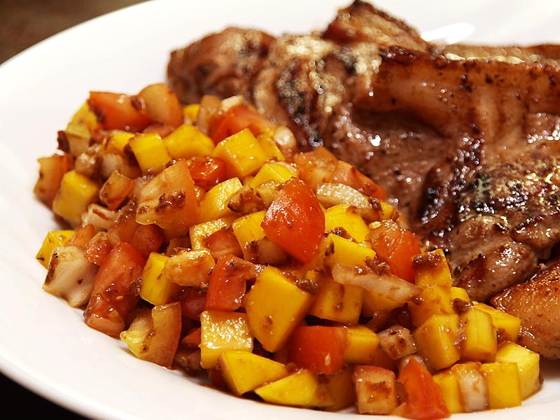 Grilled Chicken Ensaladang Mangga - An...