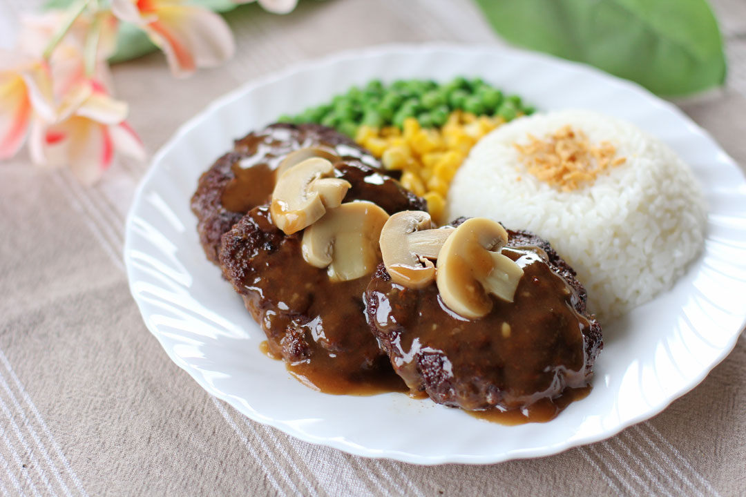 Burger Steak - Ang Sarap