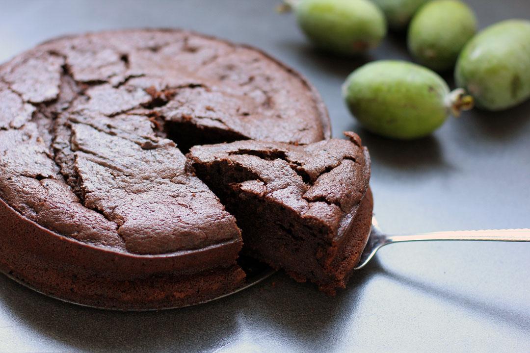 Chocolate Feijoa Cake Ang Sarap