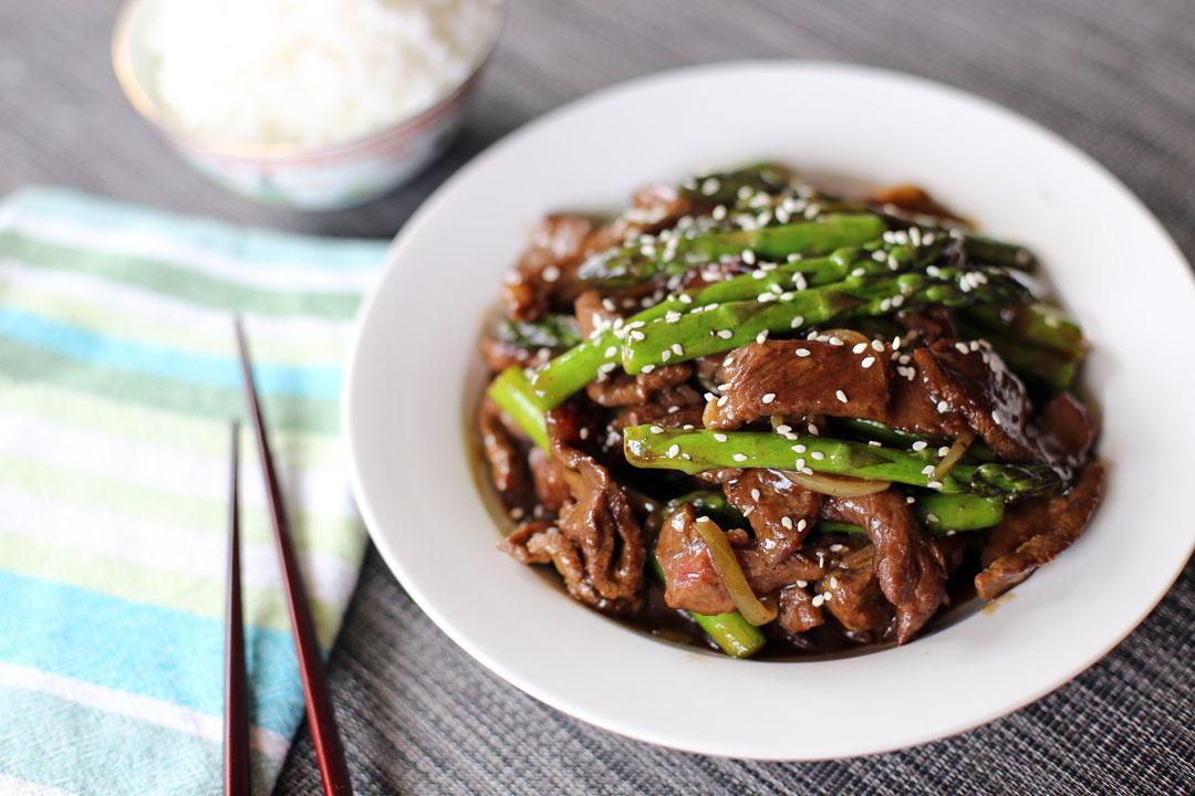 Beef and Asparagus Stir Fry - Ang Sarap