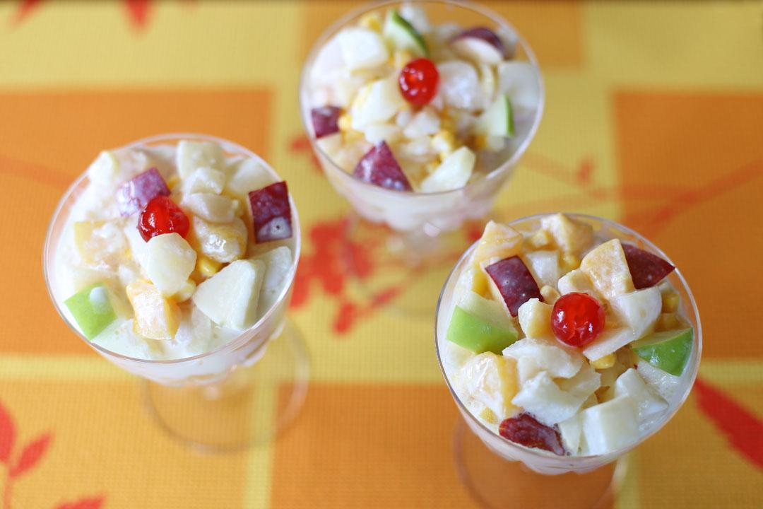 Fruit Salad Fruit Cake