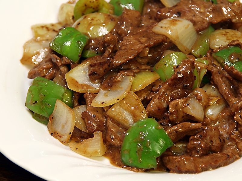 Chinese Pepper Steak (Stir-Fried Beef With Onions, Peppers ...