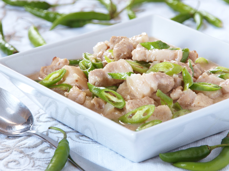 Authentic filipino food 1 bicol express with image for Authentic filipino cuisine