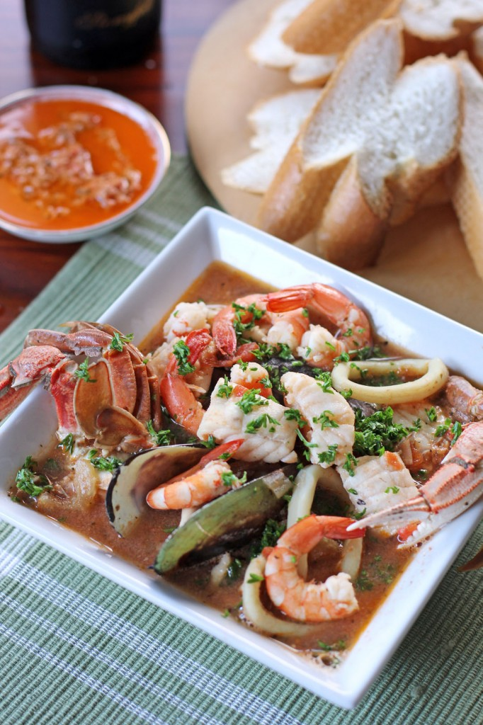 Bouillabaisse recipe food and wine master cooking tasty for bouillabaisse recipe emeril lagasse food network recipe get 3 wines which go well with it matched by sommelier grade algorithm forumfinder Gallery