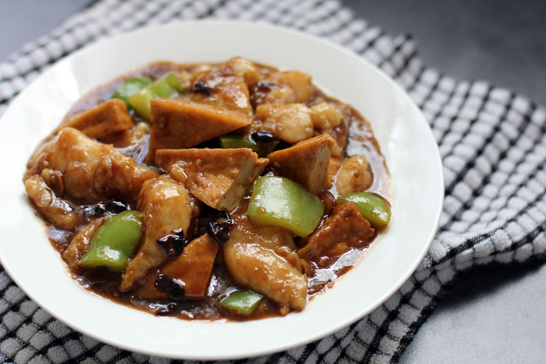 fish in black bean sauce ang sarap