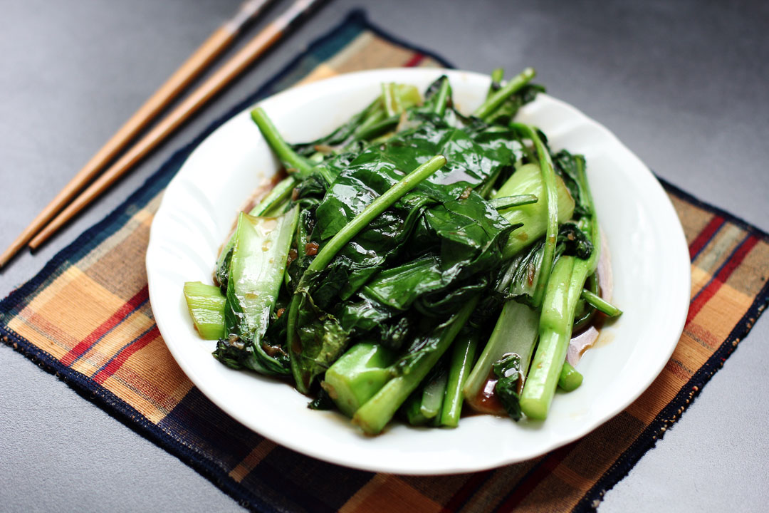 Stir Fried Asian Greens Ang Sarap
