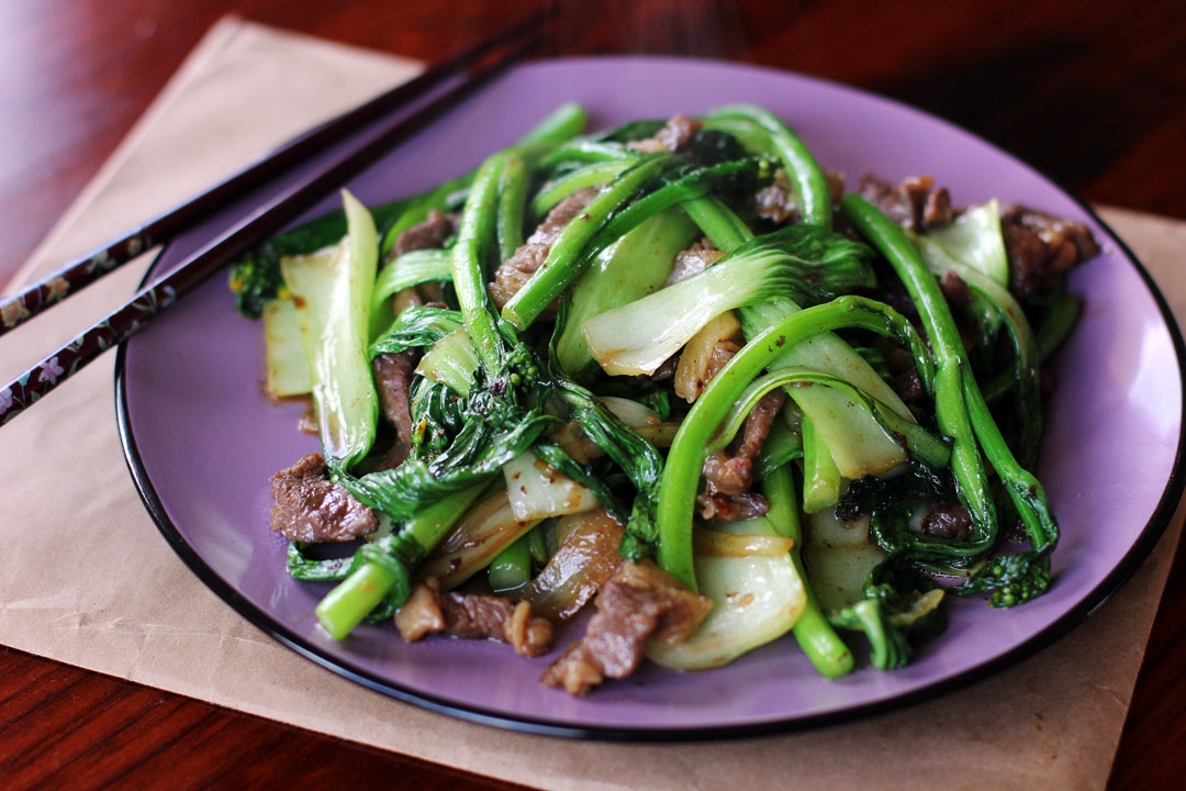 Beef And Asian Greens Stir Fry Ang Sarap